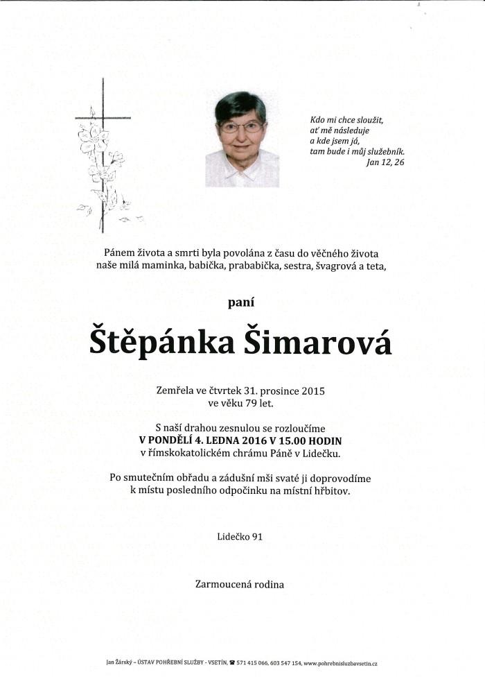 Štěpánka Šimarová