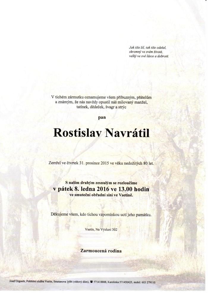 Rostislav Navrátil