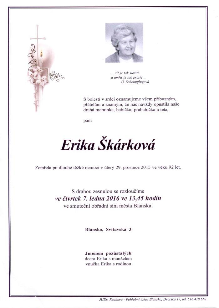 Erika Škárková