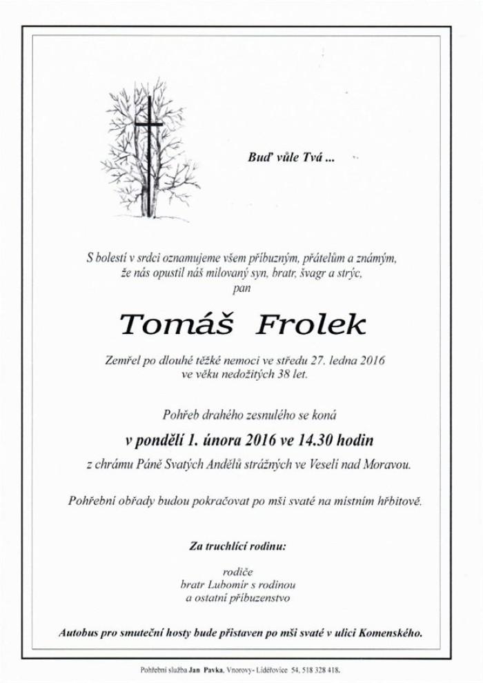 Tomáš Frolek