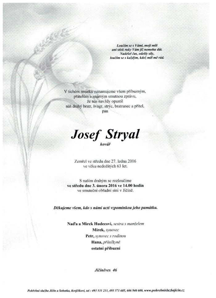 Josef Stryal