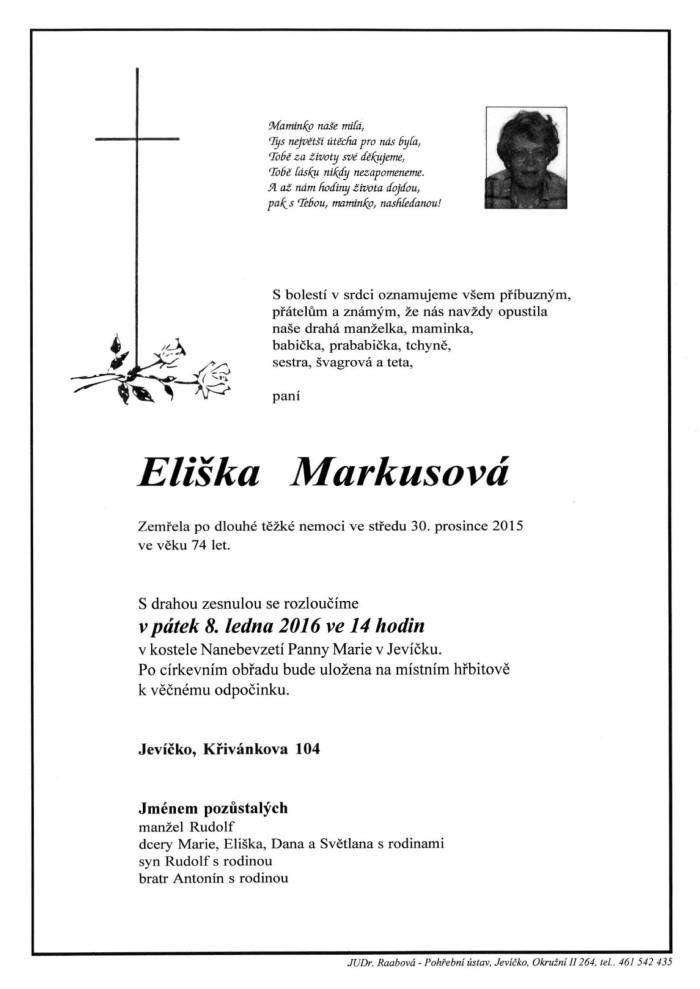 Eliška Markusová
