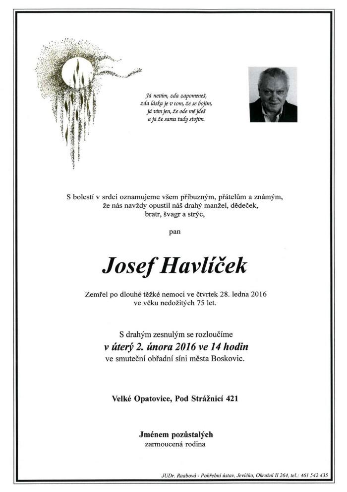 Josef Havlíček