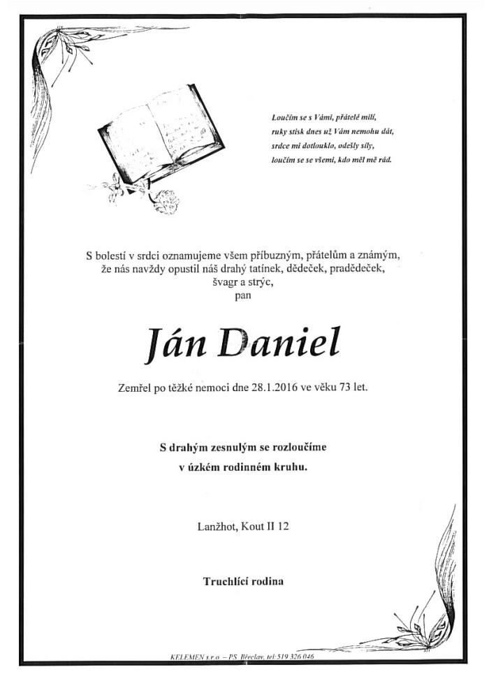 Ján Daniel