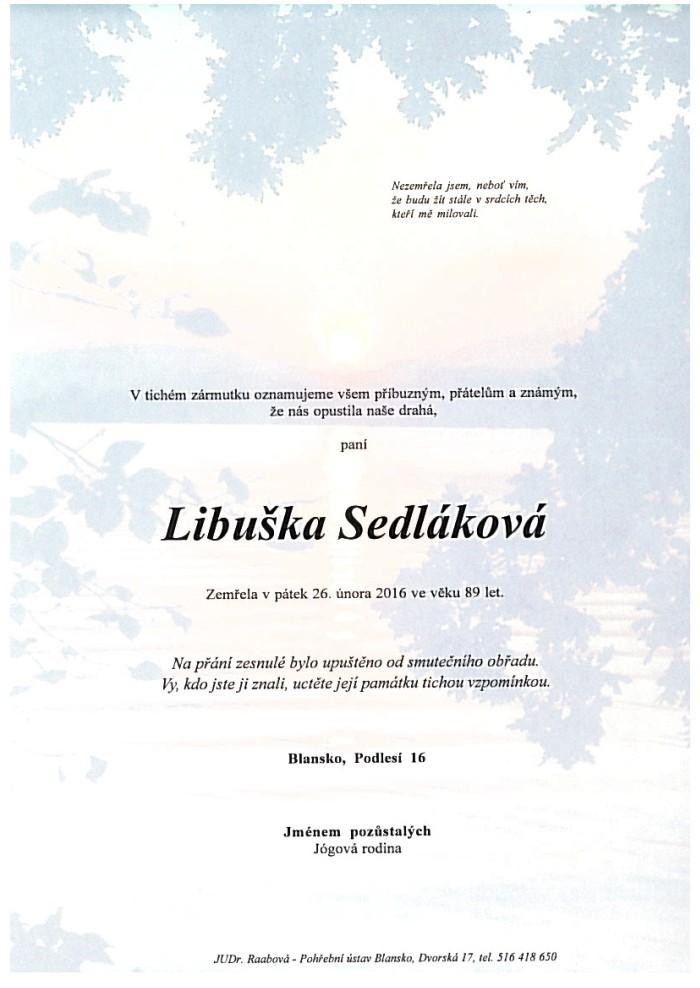 Libuška Sedláková