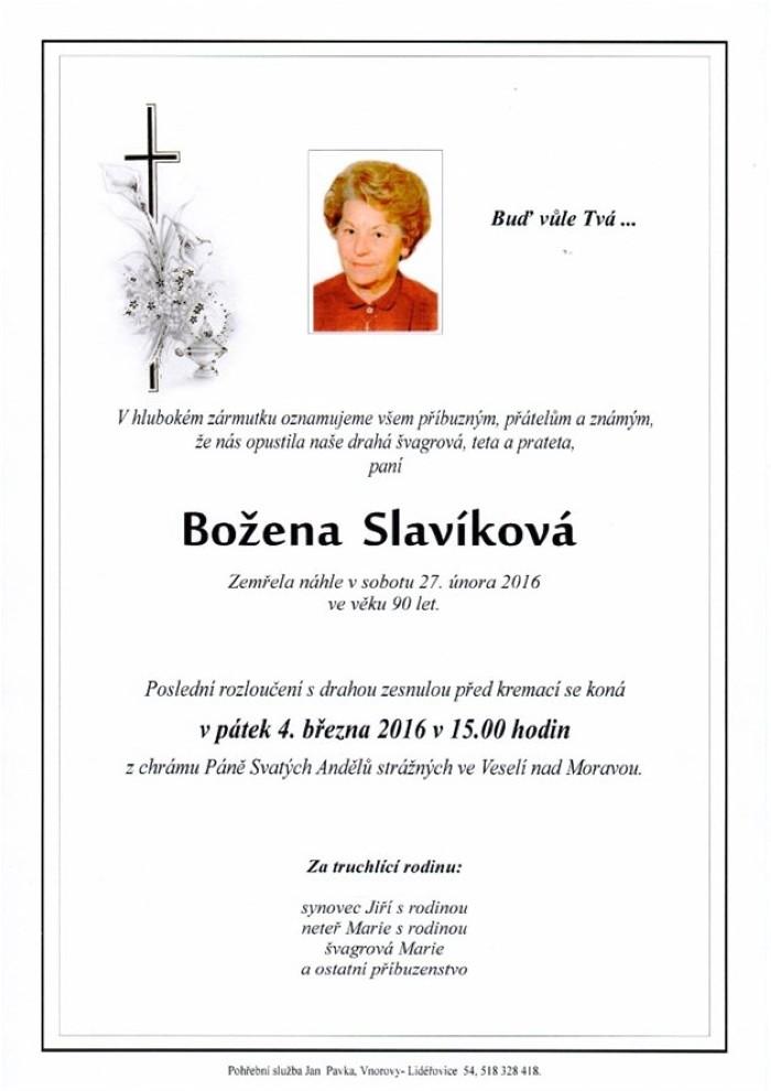 Božena Slavíková
