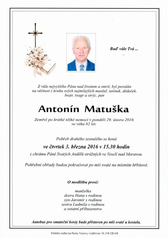 Antonín Matuška