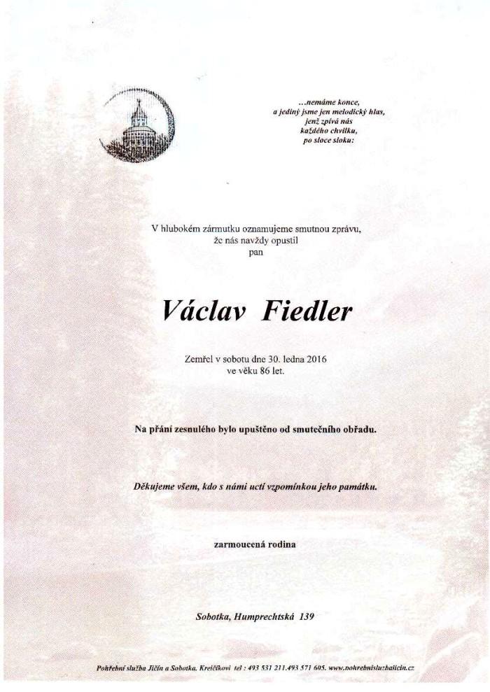 Václav Fiedler