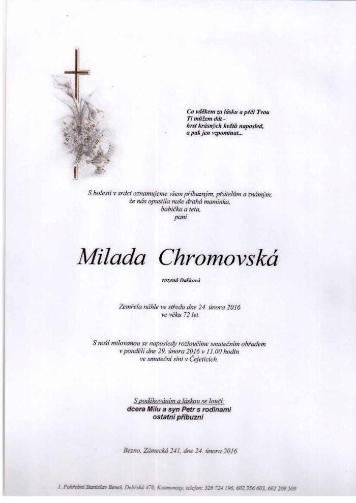 Milada Chromovská