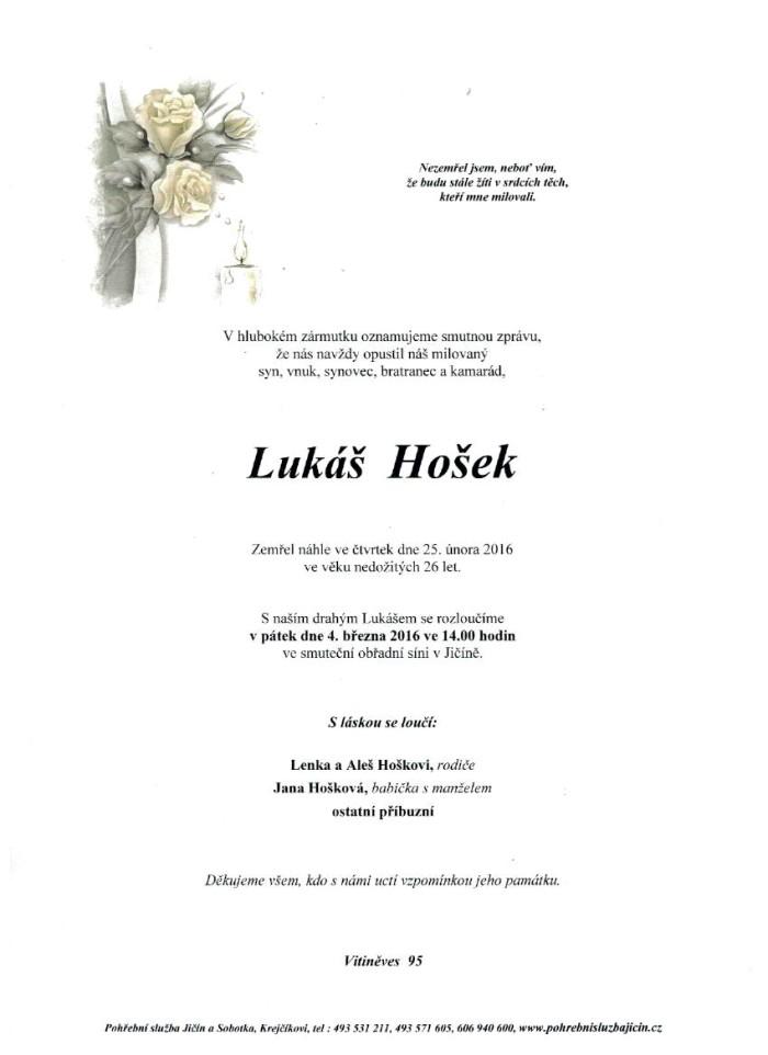 Lukáš Hošek