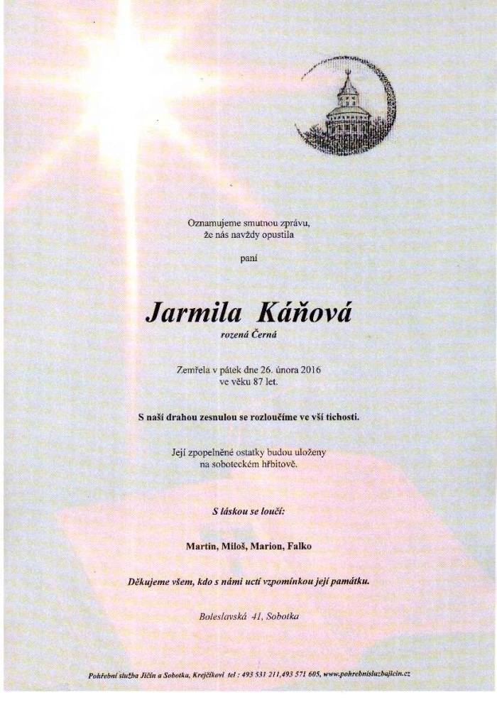 Jarmila Káňová