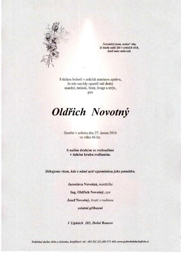 Oldřich Novotný
