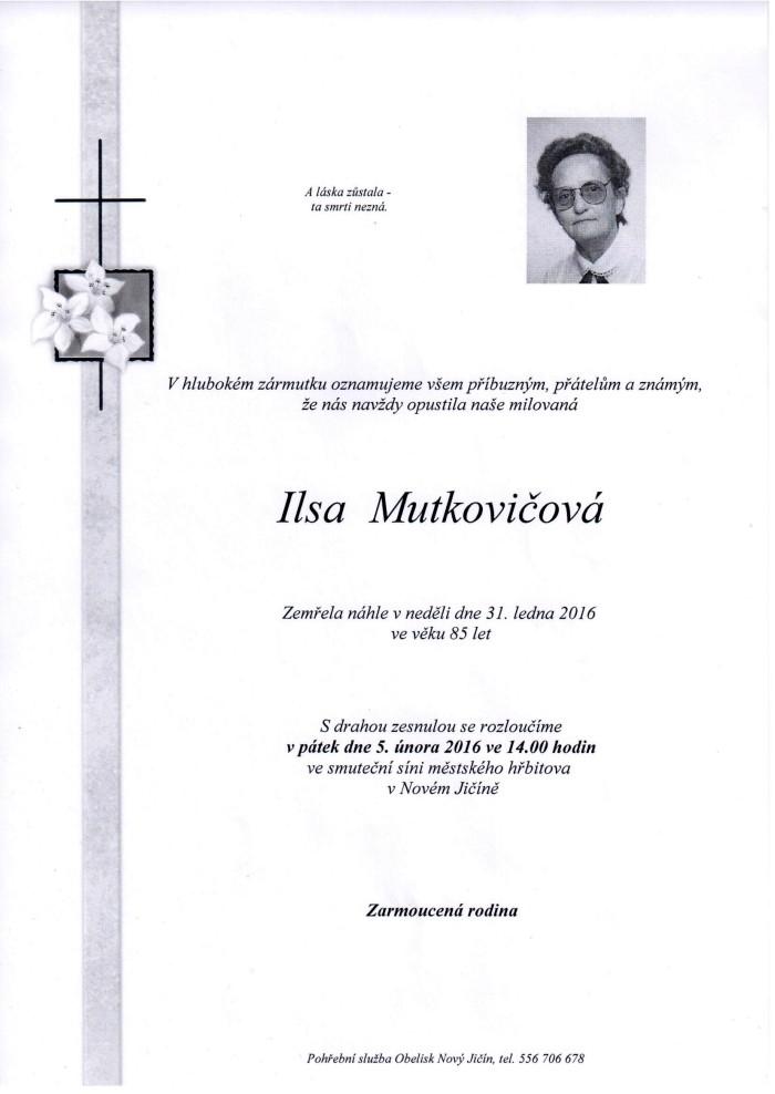 Ilsa Mutkovičová