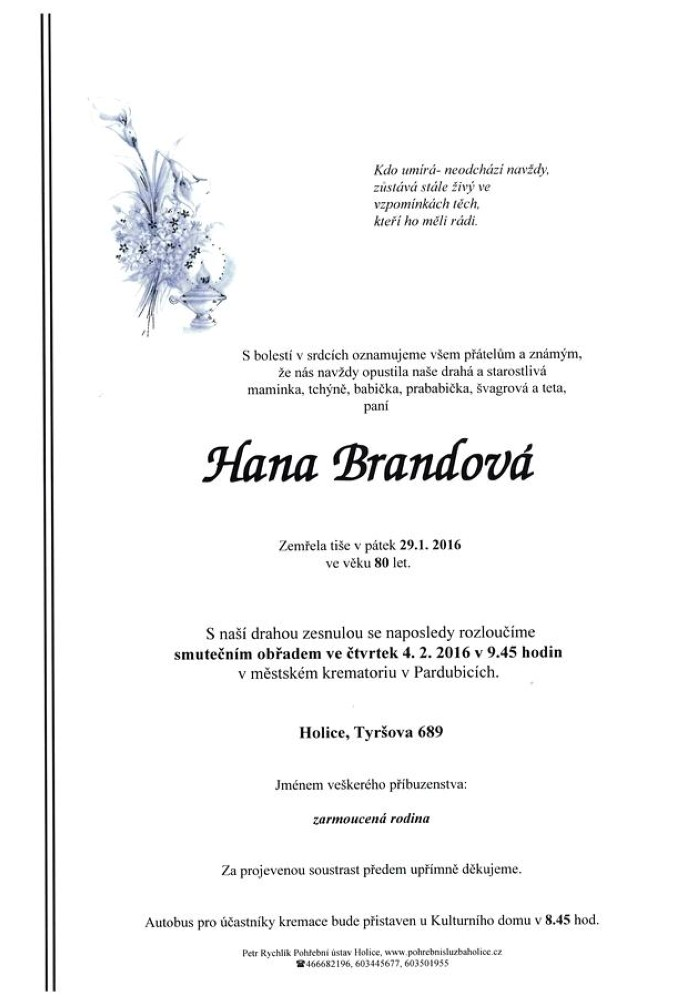 Hana Brandová