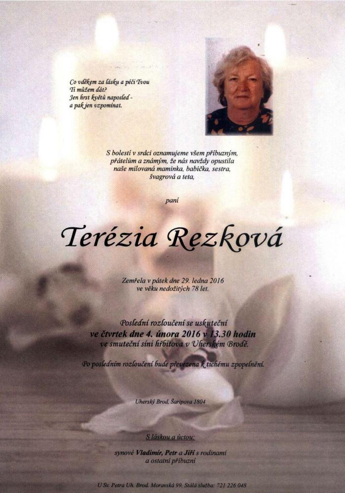 Terézia Rezková