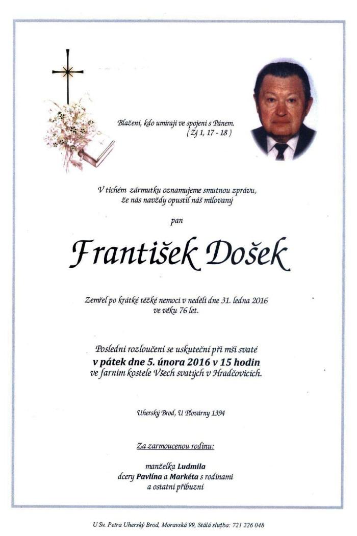 František Došek