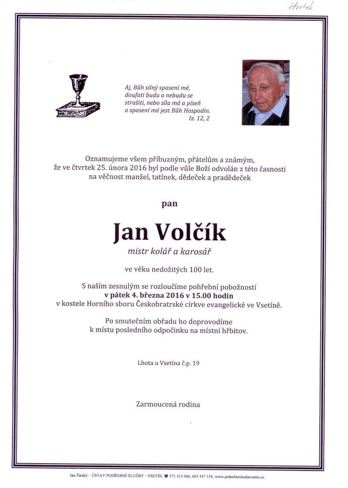 Jan Volčík
