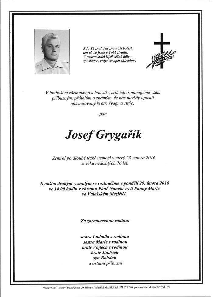Josef Grygařík