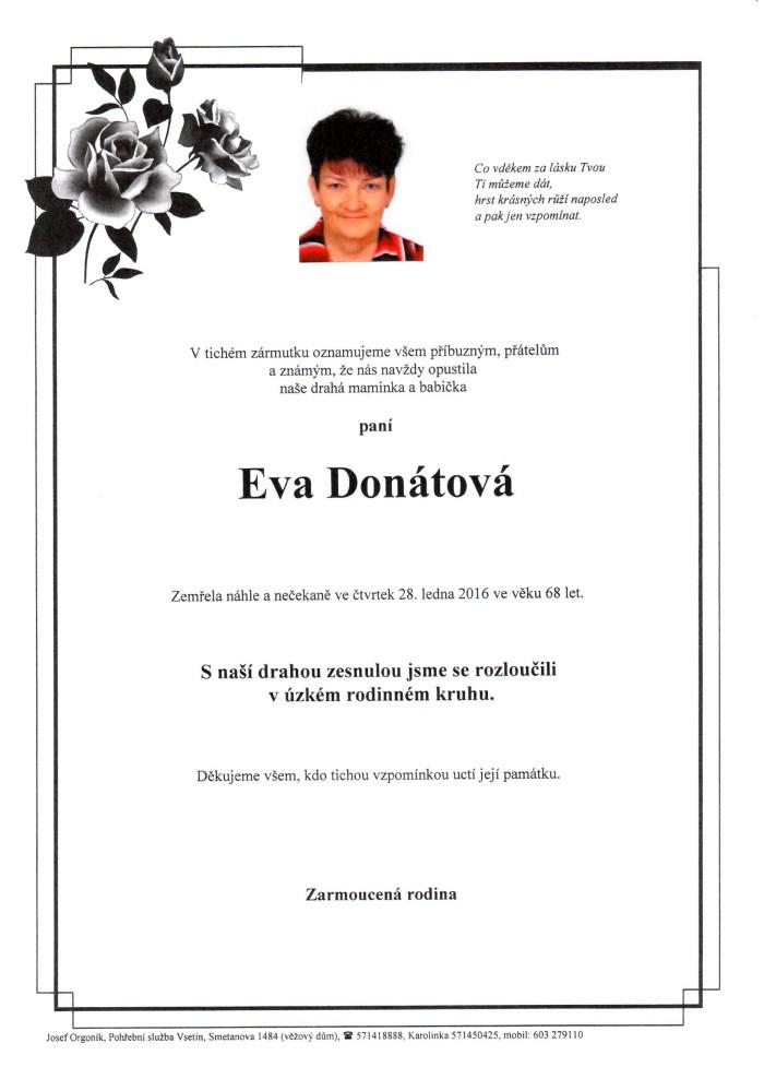 Eva Donátová