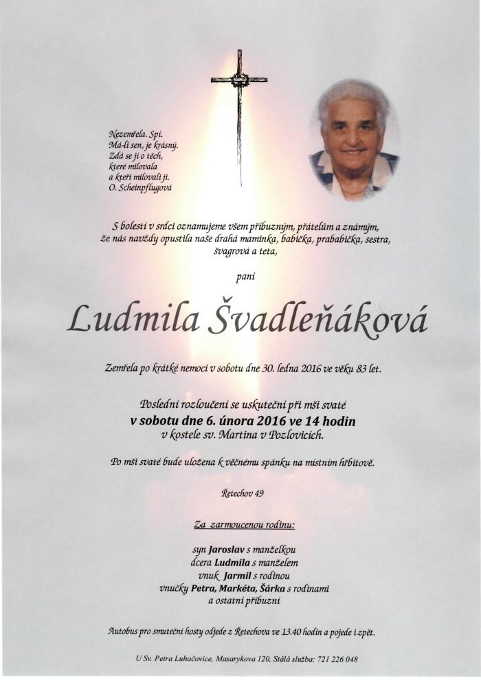 Ludmila Švadleňáková
