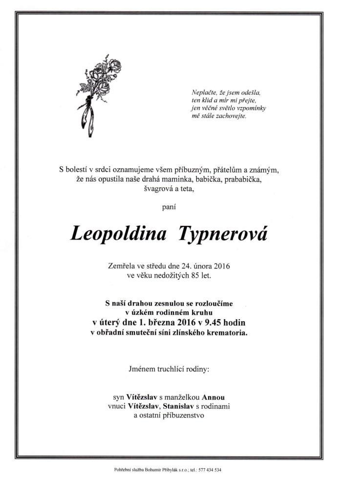 Leopoldina Typnerová