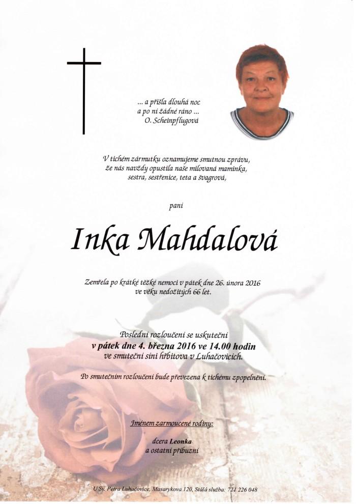 Inka Mahdalová
