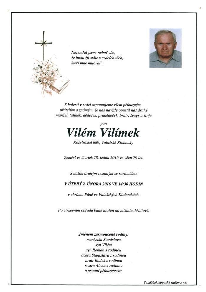 Vilém Vilímek