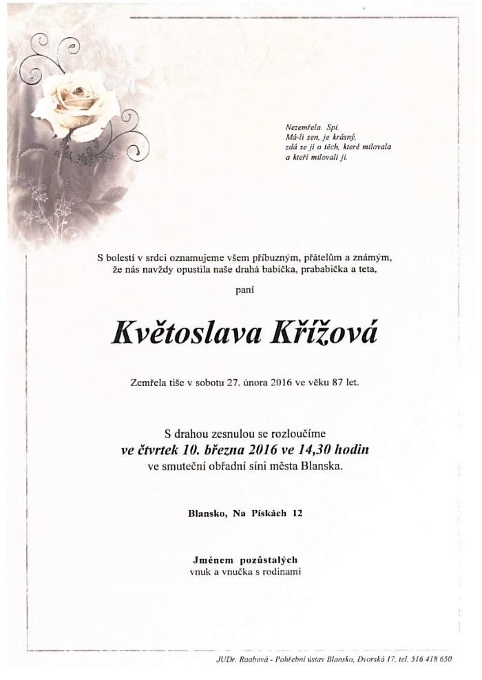 Květoslava Křížová