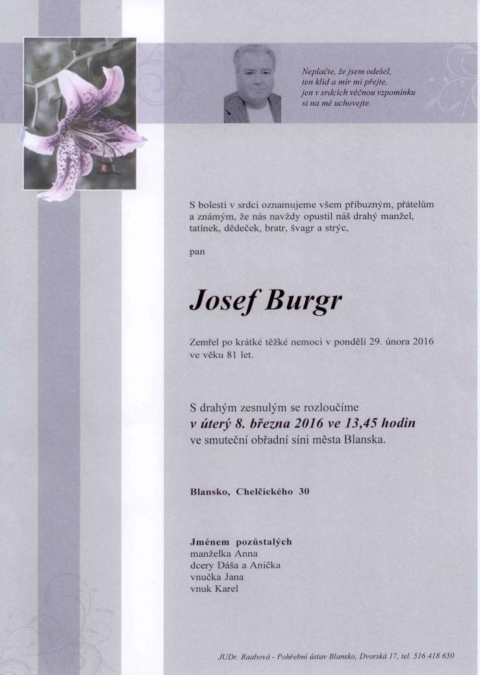 Josef Burgr