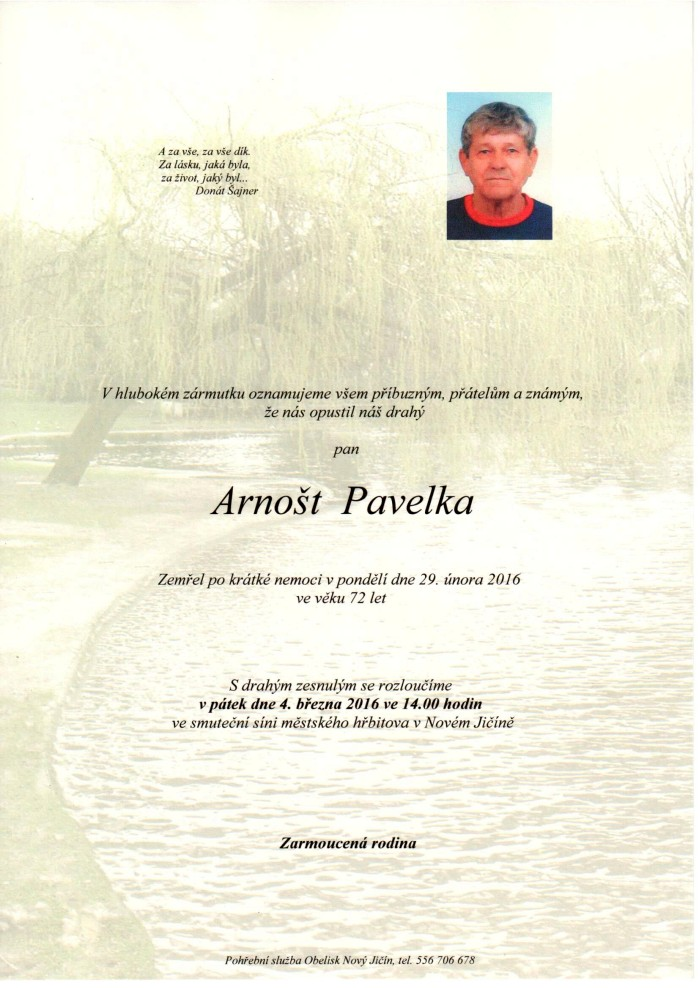 Arnošt Pavelka