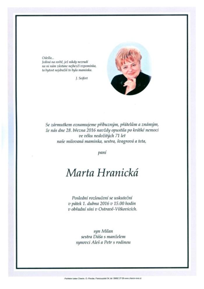 Marta Hranická