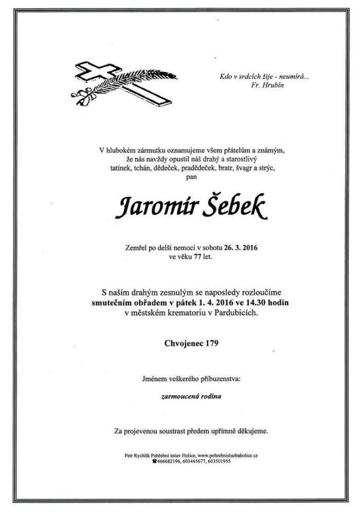 Jaromír Šebek
