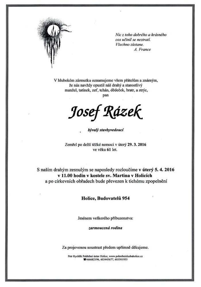 Josef Rázek