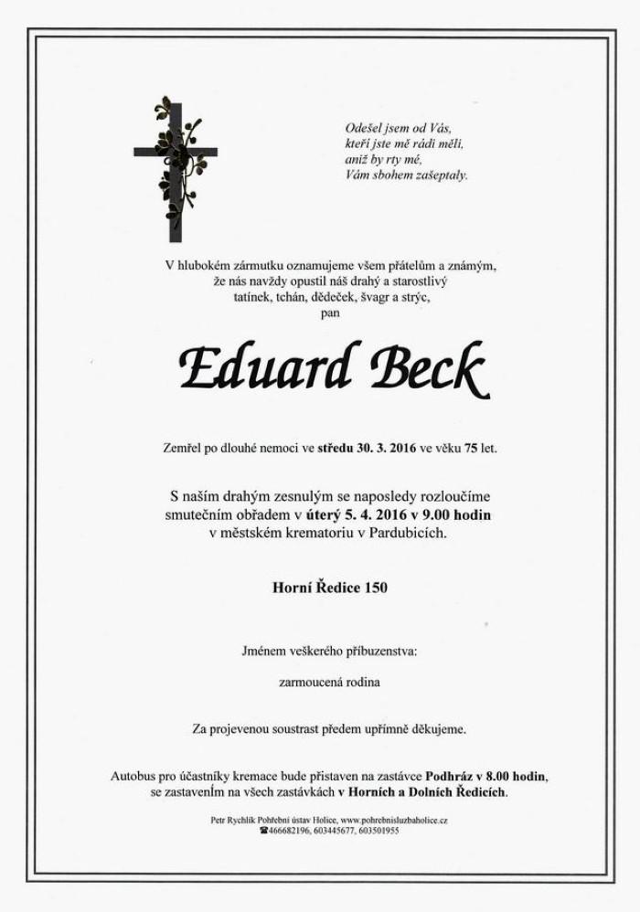 Eduard Beck