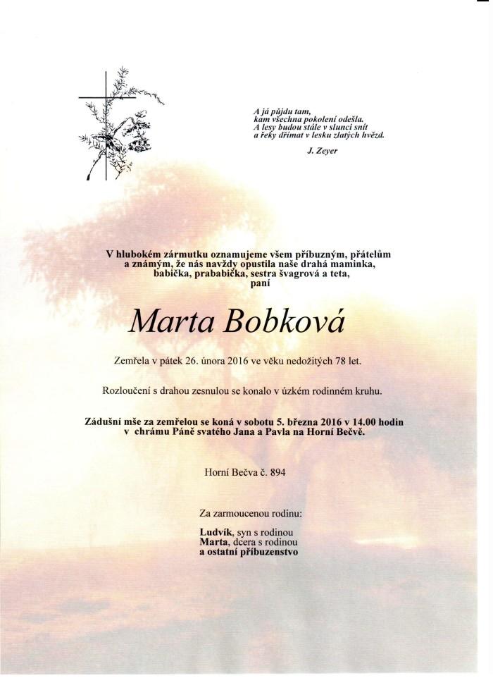 Marie Bobková