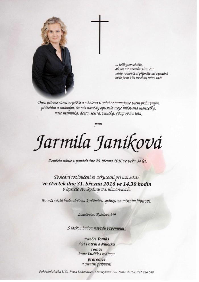 Jarmila Janíková