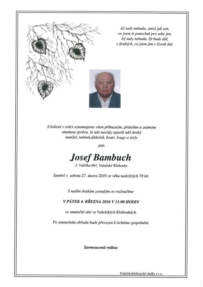 Josef Bambuch