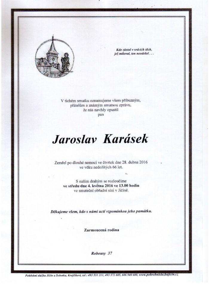 Jaroslav Karásek