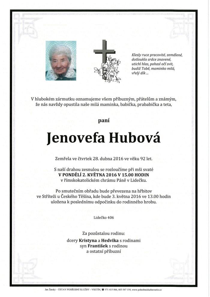 Jenovefa Hubová