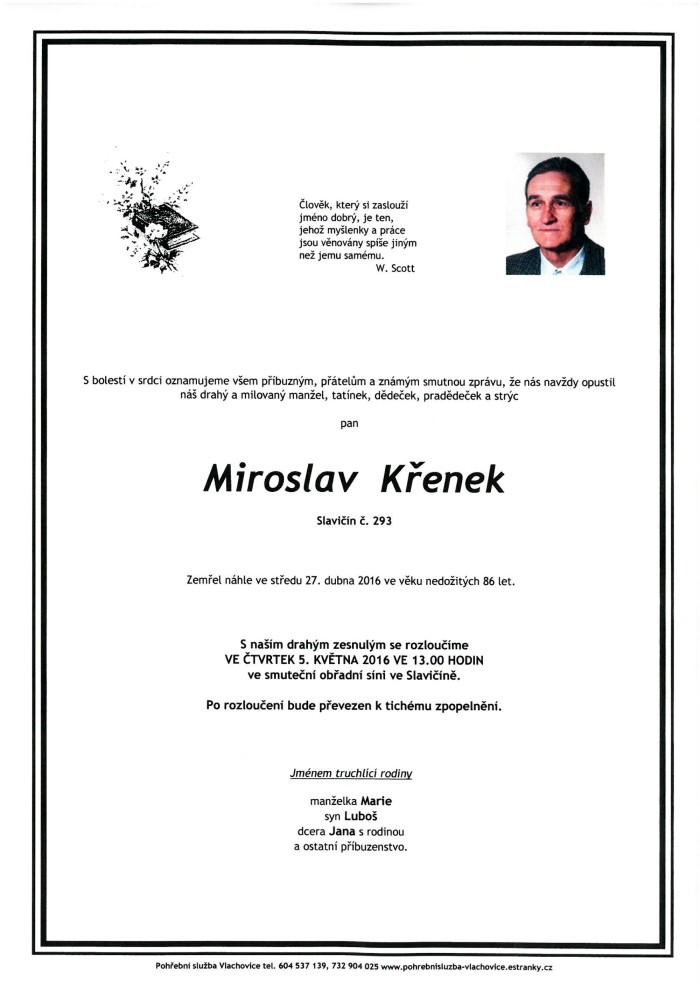 Miroslav Křenek