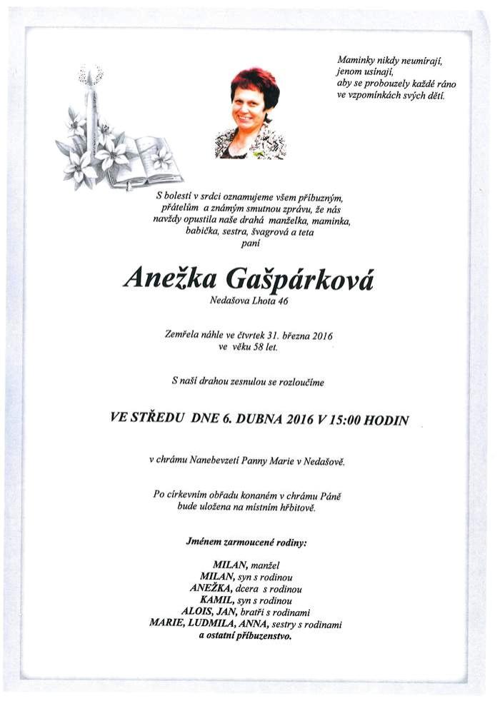 Anežka Gašpárková