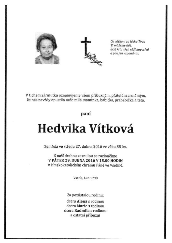 Hedvika Vítková