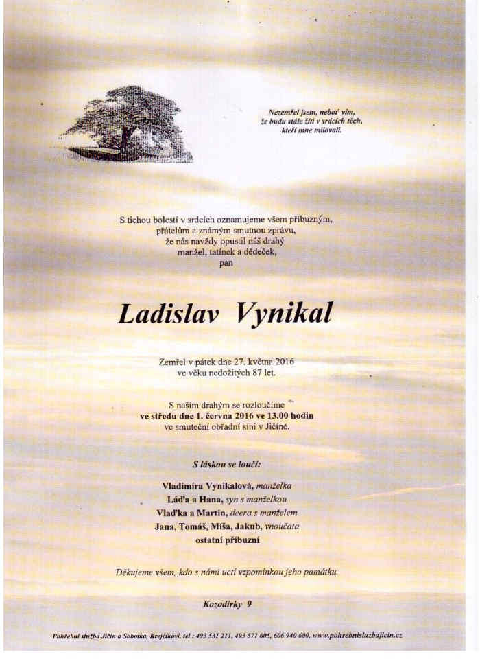 Ladislav Vynikal