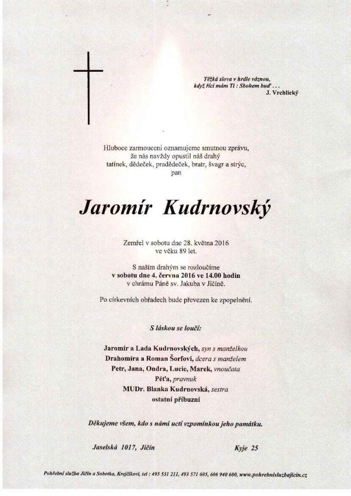 Jaromír Kudrnovský