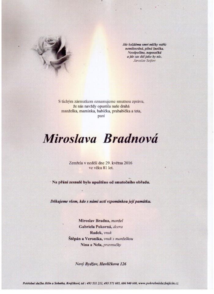 Miroslava Bradnová