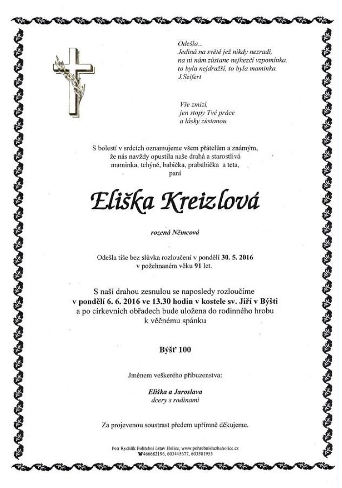 Eliška Kreizlová