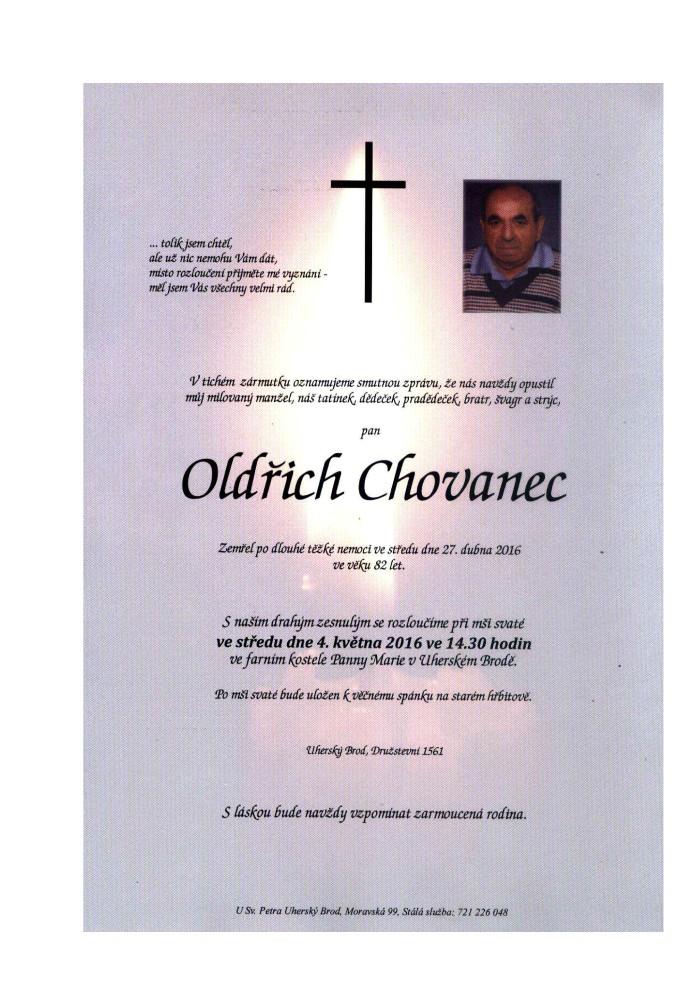 Oldřich Chovanec