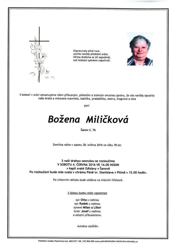 Božena Miličková