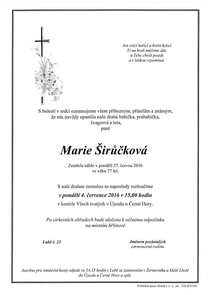 Marie Širůčková