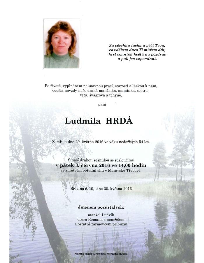 Ludmila Hrdá